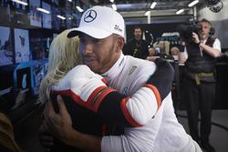 Christina Aguilera ve Lewis Hamilton, Mercedes AMG F1