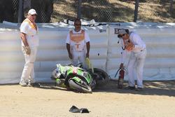 Toprak Razgatlioglu, Kawasaki Puccetti Racing crash
