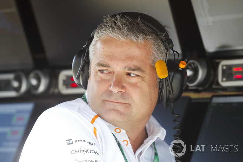 Gil de Ferrarn, Sporting Director, McLaren