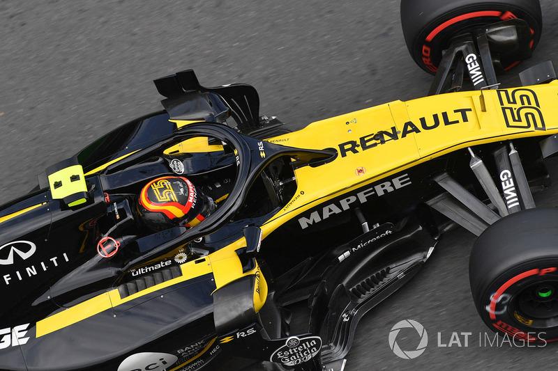 9: Карлос Сайнс, Renault Sport F1 Team R.S. 18 – 1:43.351