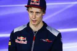 Brendon Hartley, Scuderia Toro Rosso en la conferencia de prensa