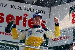 Podium : le vainqueur Heikki Kovalainen, Gabord Competition