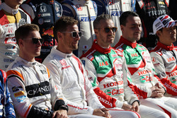 Honda Racing THANKS DAY, церемония