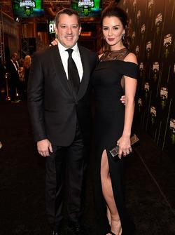Tony Stewart mit seiner Verlobten Pennelope Jimenez