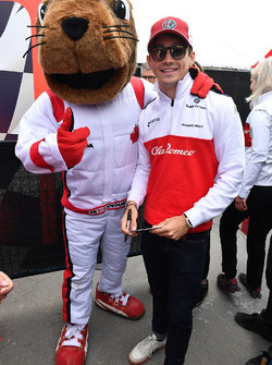 Charles Leclerc, Sauber and fan