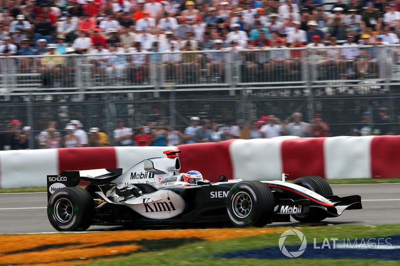 2005 Kanada: McLaren