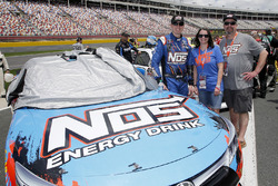 Kyle Busch, Joe Gibbs Racing, Toyota Camry NOS Energy Drink Guests