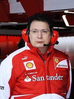 Николас Томбасис, главный конструктор Ferrari