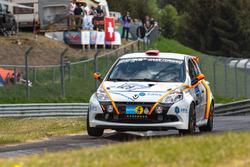 #129 Schlaug Motorsport Renault Clio RS: Xaver Lamadrid Jr., Xaver Lamadrid, Nicolas Abril, Frank Haack