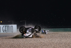 Crash, Raffaele De Rosa, Althea Racing