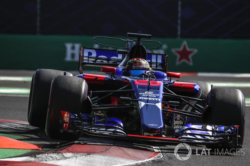 17. Brendon Hartley, Scuderia Toro Rosso STR12 *