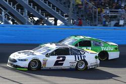 Brad Keselowski, Team Penske Ford, Jeffrey Earnhardt, Circle Sport - The Motorsports Group Chevrolet