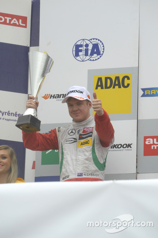 Podium : Nick Cassidy, Prema Powerteam Dallara F312 – Mercedes-Benz,