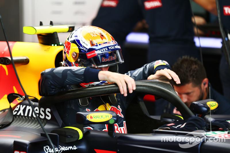 Max Verstappen, Red Bull Racing RB12Silverstone, Libere 1: Vinales davanti a tutti con la gomma nuova