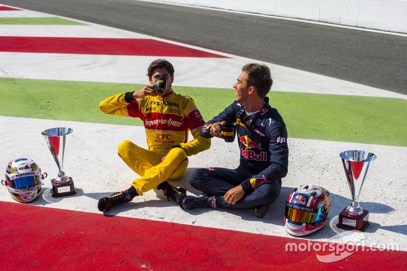Antonio Giovinazzi, PREMA Racing ve Pierre Gasly, PREMA Racing