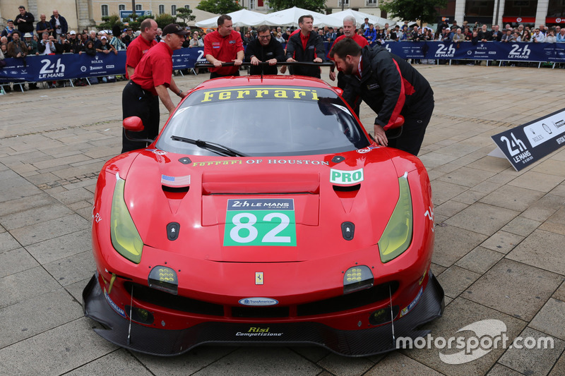 #82 Risi Competizione Ferrari 488 GTE