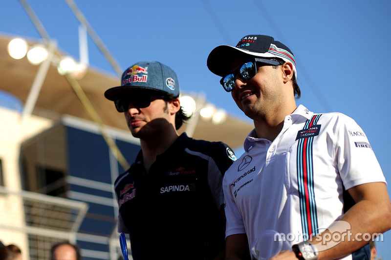 Felipe Massa, Williams and Carlos Sainz Jr., Scuderia Toro Rosso