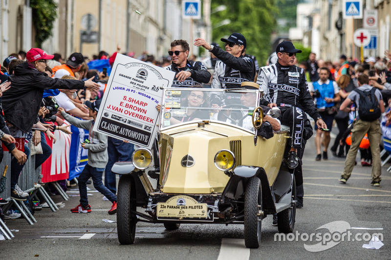 #30 Extreme Speed Motorsports Ligier JS P2 Nissan: Scott Sharp, Johannes van Overbeek, Ed Brown