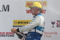 Podium: third place Jason Plato, Silverline Subaru BMR Racing