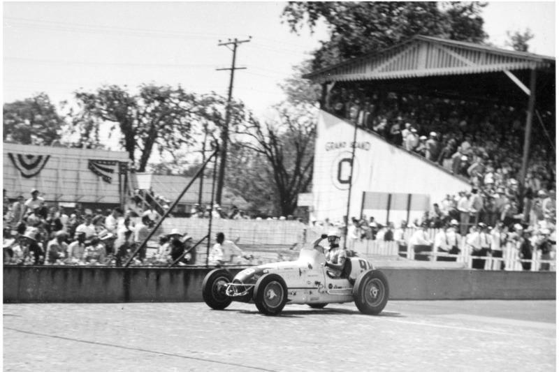 Troy Ruttman (Kuzma) - Indy 500 1952