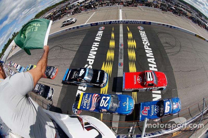 #10: Start zum NASCAR Truck-Rennen in Loudon