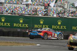 #9 Ferrari of Long Island Ferrari 488: Alfred Caiola crash