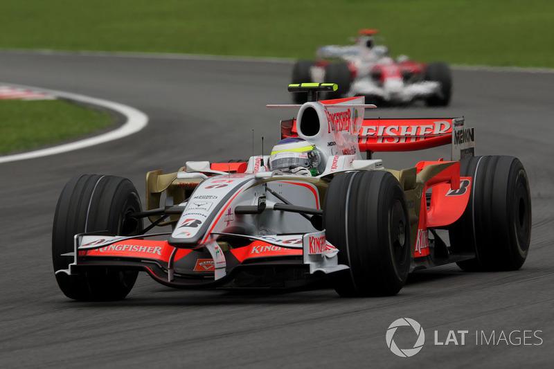 2008 : Force India VJM01-Ferrari