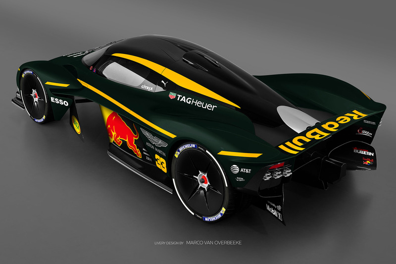 Valkyrie Red Bull livery 6