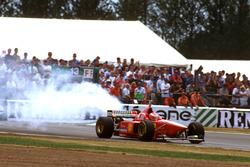 Eddie Irvine, Ferrari F310 bozulan motoru ile