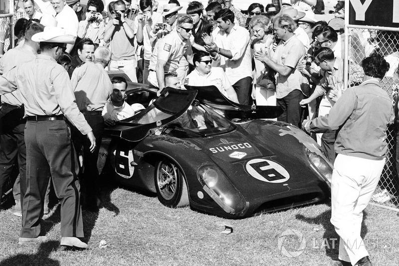 1969: Mark Donohue, Chuck Parsons, Lola-Cheverolet T70 Mk3B