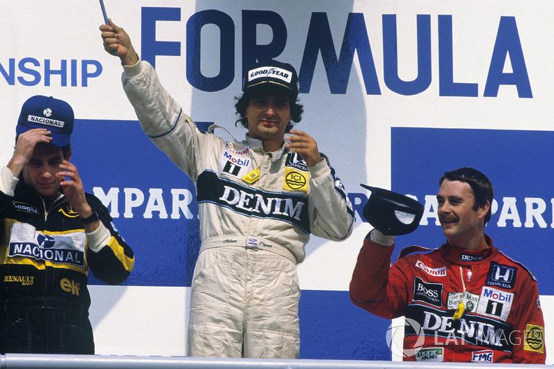 В итоге Нельсон Пике одержал заслуженную победу, Айртон Сенна, бросая машину из стороны в сторону, на последних каплях горючего стал вторым, а нижняя ступень подиума удивительным образом досталась всеми подзабытому Найджелу Мэнселлу, который благодаря этому остался впереди в общем зачете. Пилотам McLaren достались только пятое и шестое места.