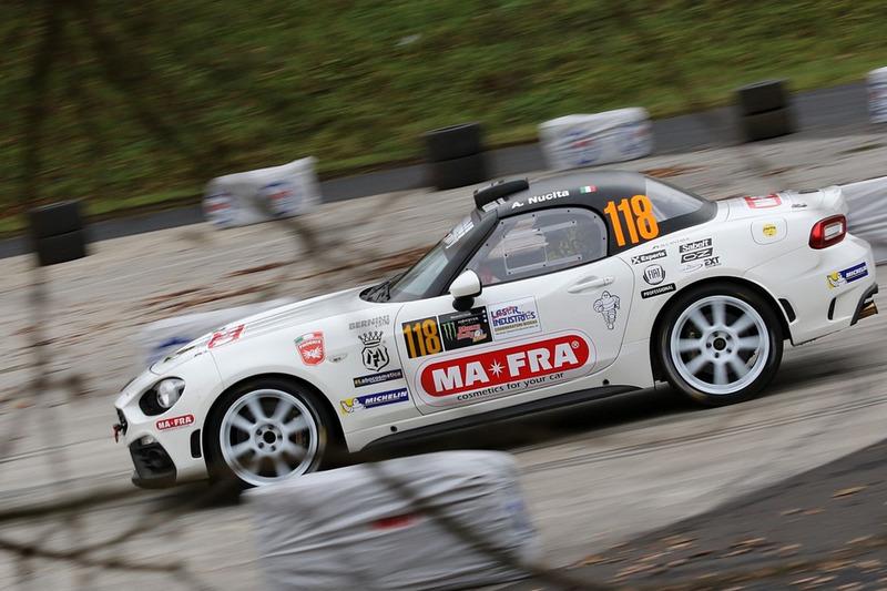 Andrea Nucita, Massimiliano Mattioli,  124 Abarth Rally
