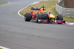 David Coulthard tijdens de Jumbo Racedagen