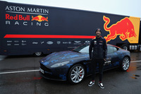 Daniel Ricciardo, Red Bull Racing  with a Aston Martin DB11