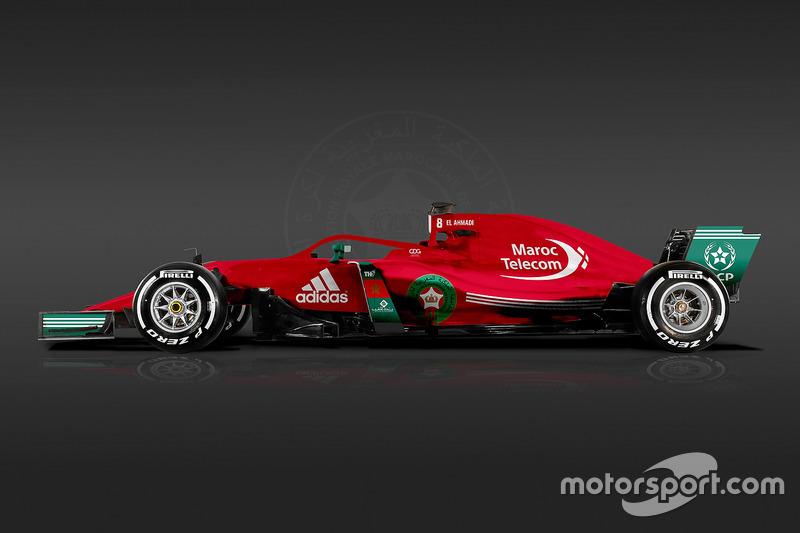 Formula 1 Dünya Kupası tasarımları - Fas