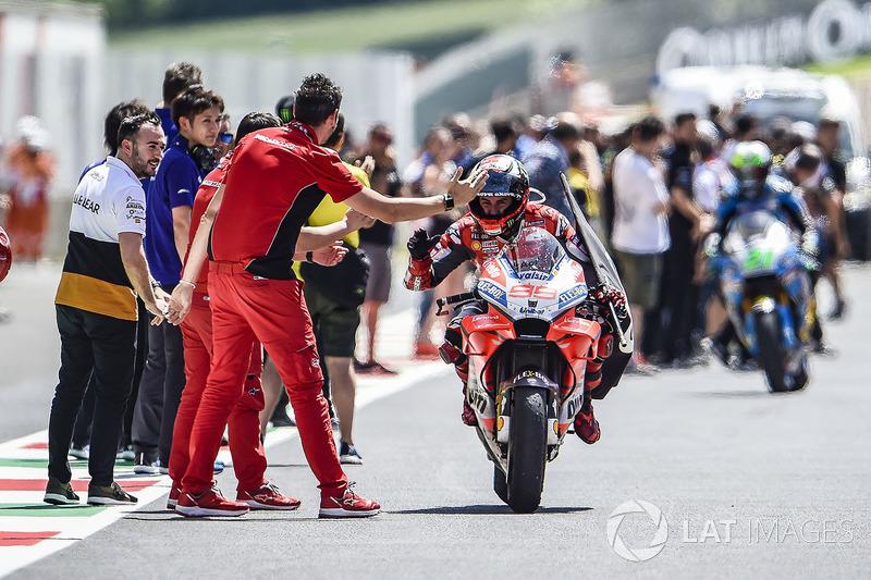 Pemenang balapan, Jorge Lorenzo, Ducati Team