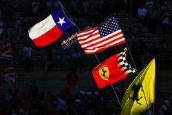 Texan, US, Ferrari flags