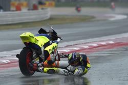 Xavier Simeon, Tasca Racing Scuderia Moto2 crash