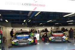 Mehdi Bennani, Sébastien Loeb Racing, Citroën C-Elysée WTCC and Tom Chilton, Sébastien Loeb Racing, Citroën C-Elysée WTCC