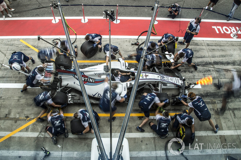 Williams pit stop practice