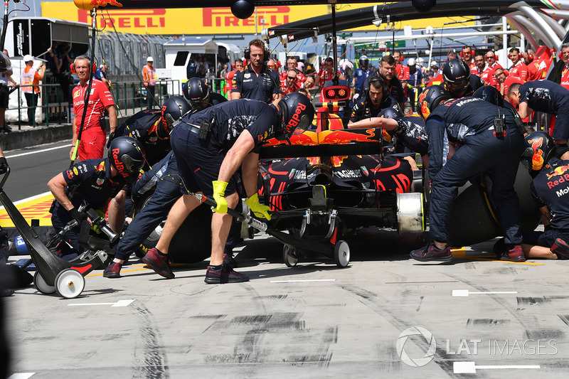 Піт-стоп Макса Ферстаппена, Red Bull Racing RB13