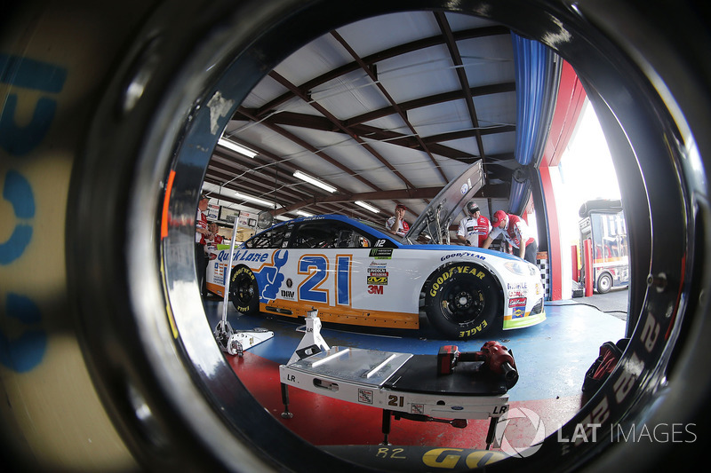 8. Ryan Blaney, Wood Brothers Racing Ford