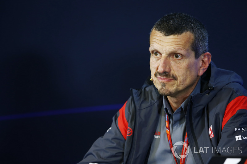 Guenther Steiner, Team Principal, Haas F1 Team, in the FIA Press Conference
