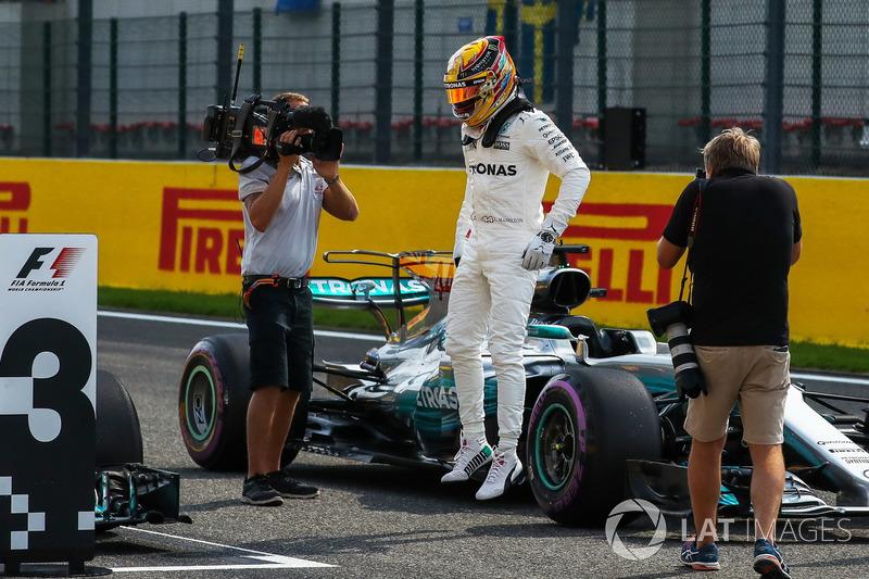 12º GP de Bélgica 2017 - Pole para Lewis Hamilton
