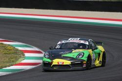 Porsche Cayman GT4 CS #205 Kinetic Racing: Neri-Pizzola