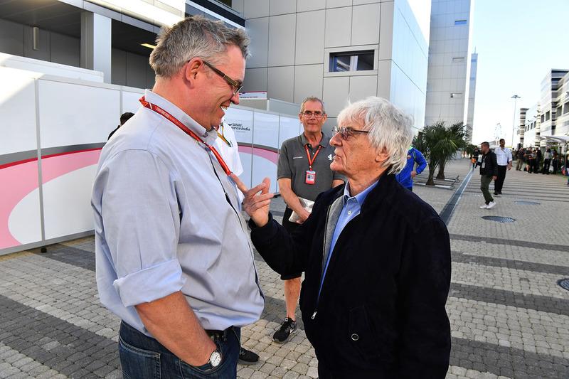 Bernie Ecclestone, Joe Saward, Journalist
