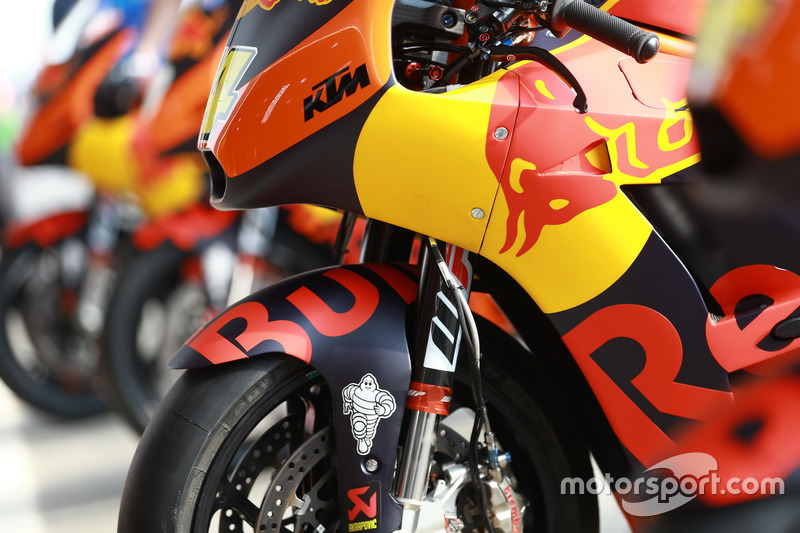 Detail: Bike von Pol Espargaro, Red Bull KTM Factory Racing