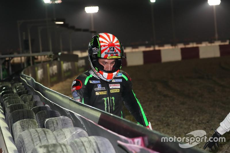 Sturz: Johann Zarco, Monster Yamaha Tech 3