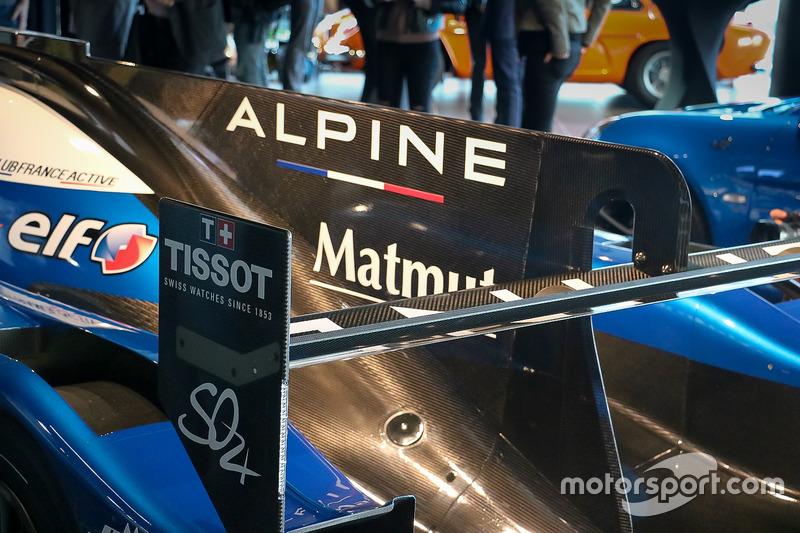 Detail: Signatech Alpine A470