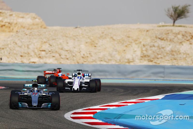 Valtteri Bottas, Felipe Massa, Fernando Alonso
